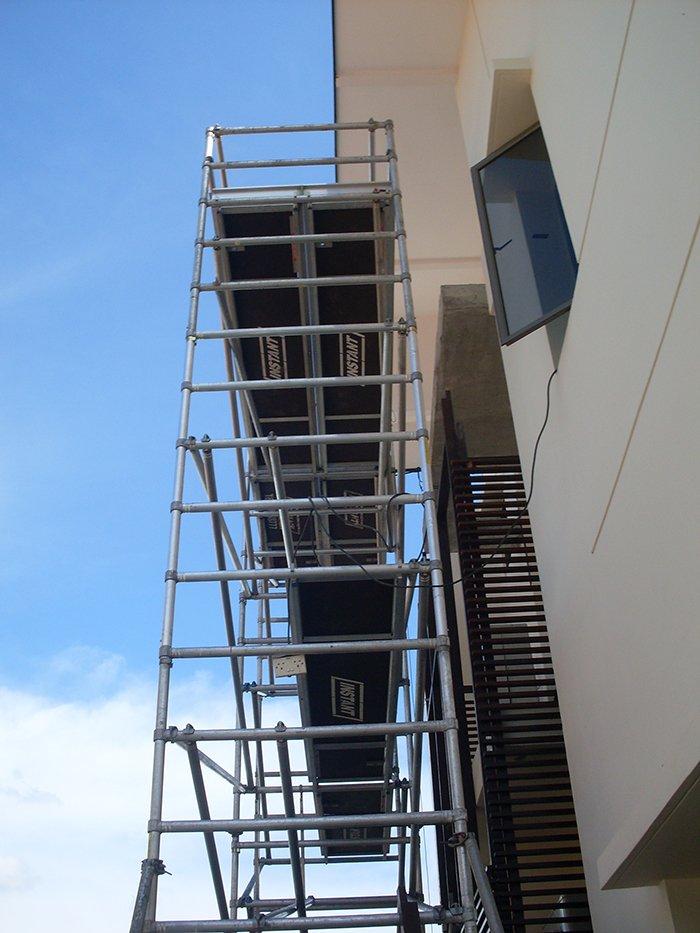 Scaffolding for Aircon 01