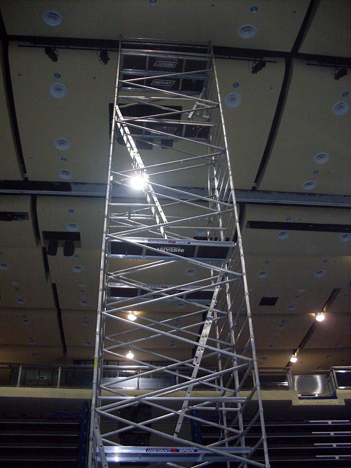 Scaffolding for Aircon 03