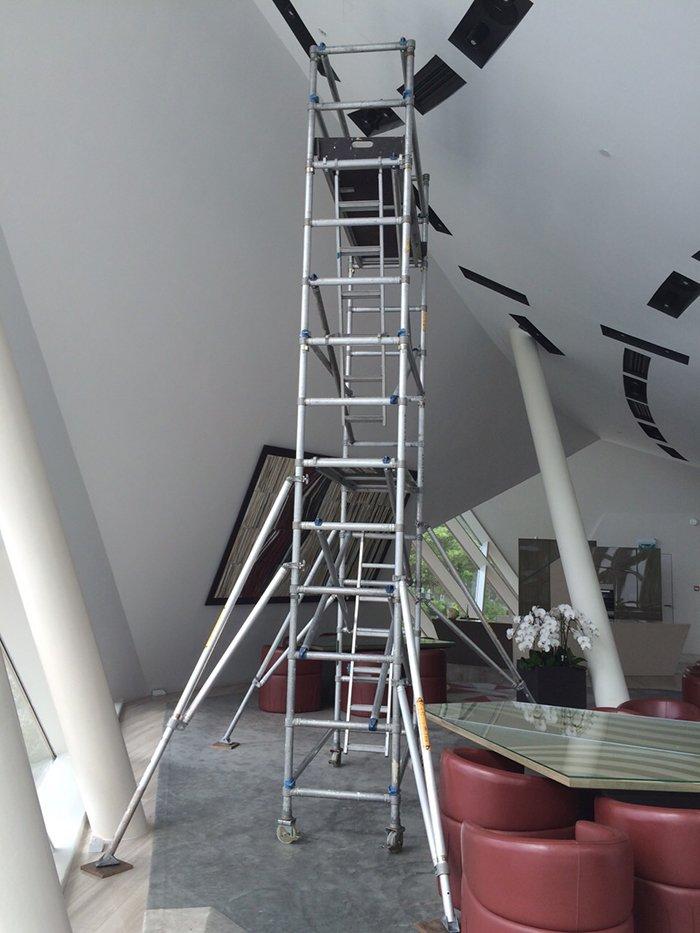 Scaffolding for Aircon 05