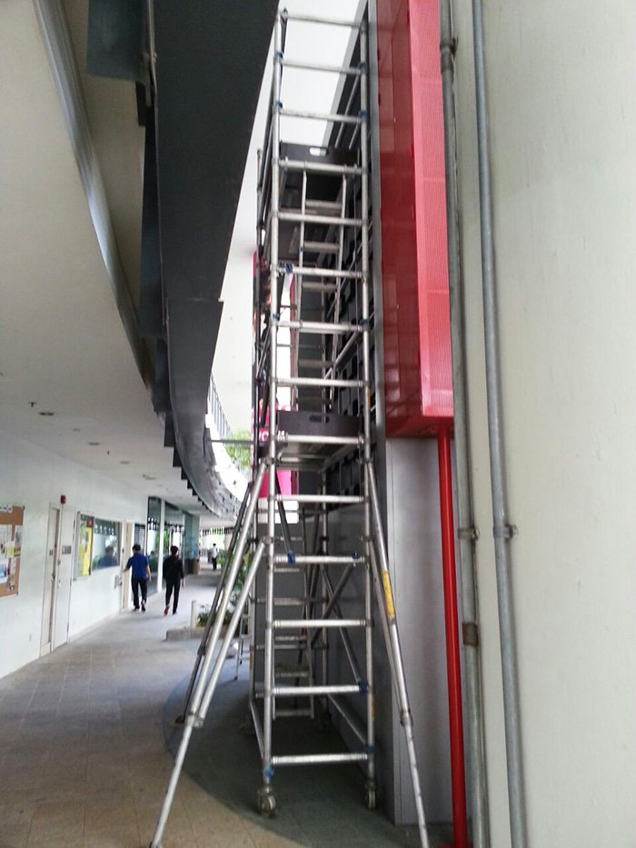 Scaffolding for Sprinklers