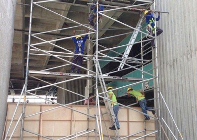 Aluminium Scaffolds Linked Tower at Factory