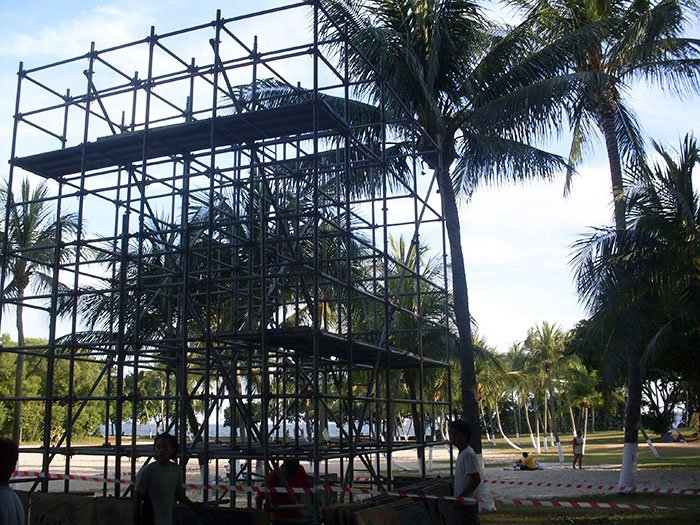 Scaffolding for Sports Events 02