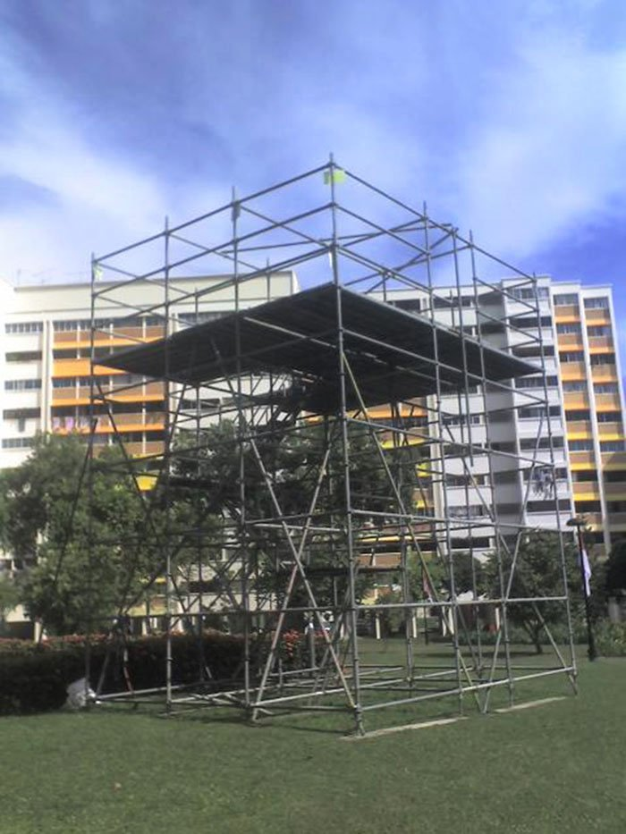 Scaffolding for Sports Events 03