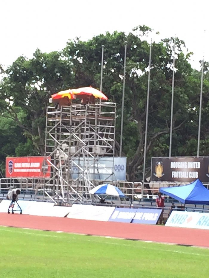 Scaffolding for Sports Events Cameras 05