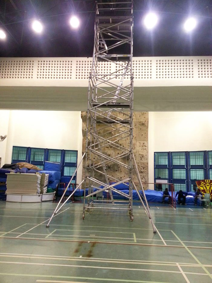 Scaffolding for Sports Events Badminton 07